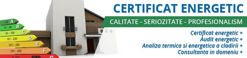 eliberare certificat energetic Bucuresti