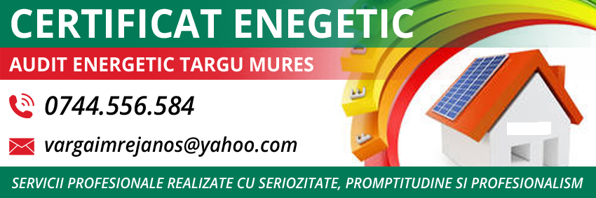 audit energetic Targu Mures