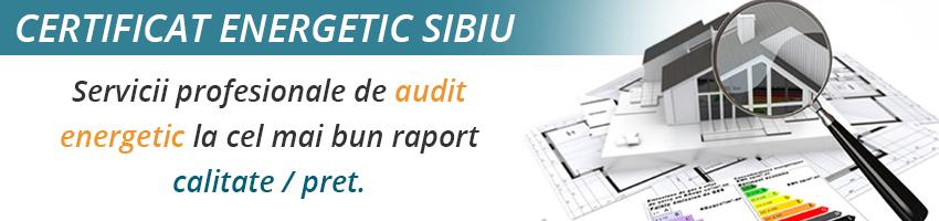 certificat energetic Sibiu